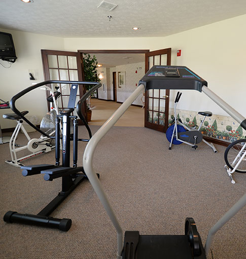 Cedar Court Fitness Room